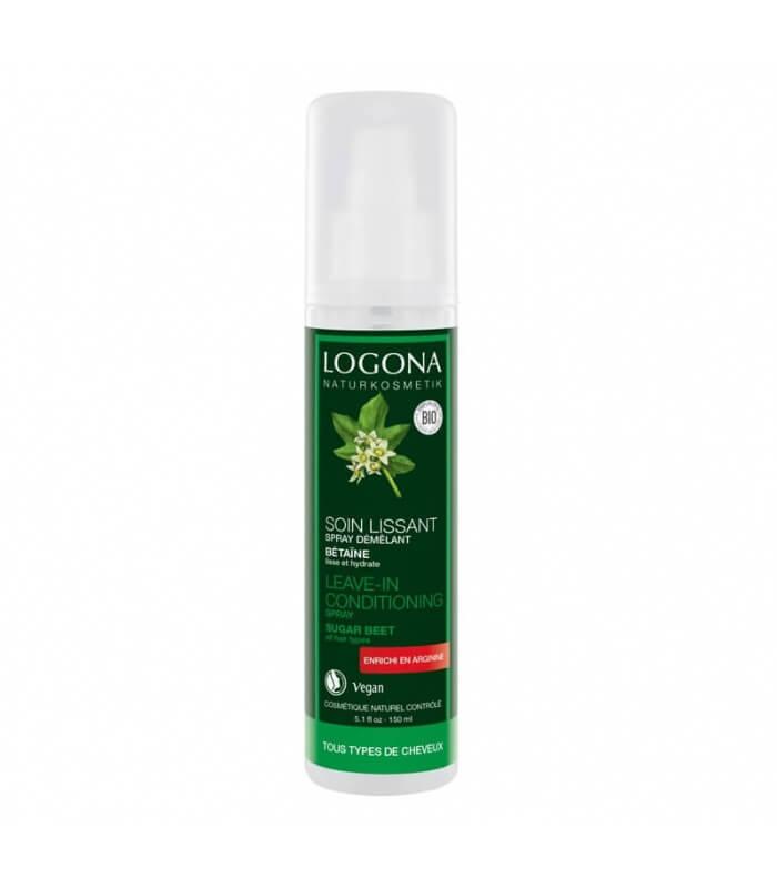 Spray Démélant Soin lissant 150ml Logona