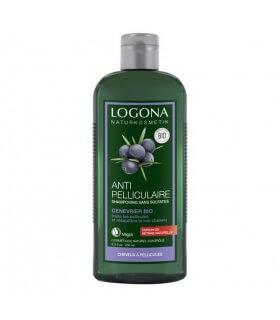 Shampooing antipelliculaire au genévrier 250 ml Logona
