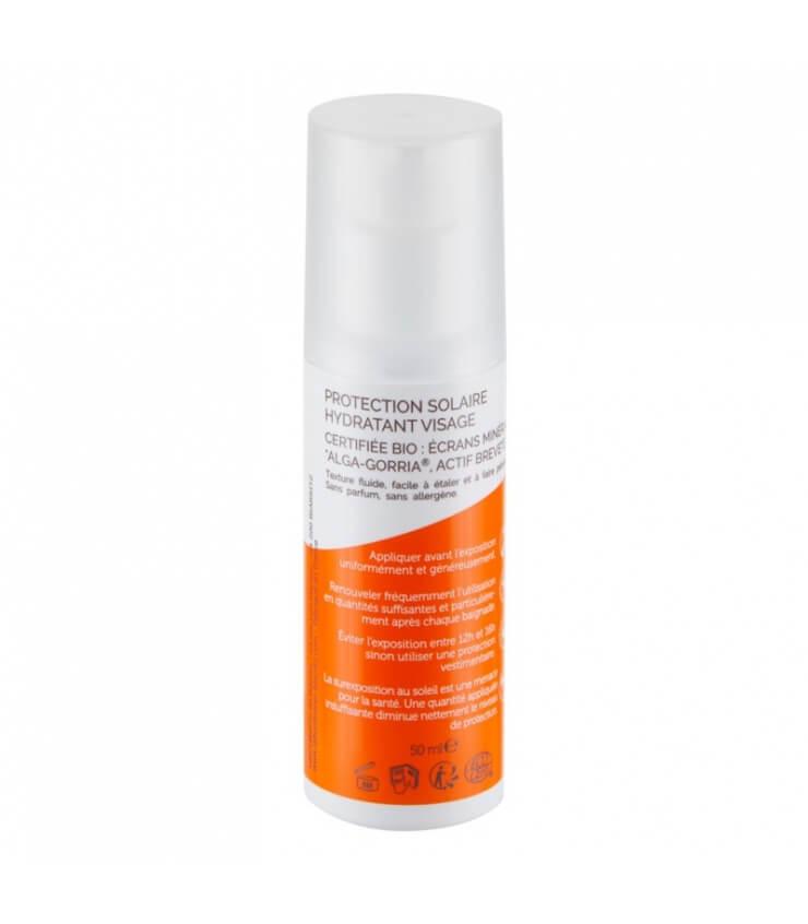 Crème solaire Visage SPF50 certifiée Bio Alga Maris Laboratoire Biarritz