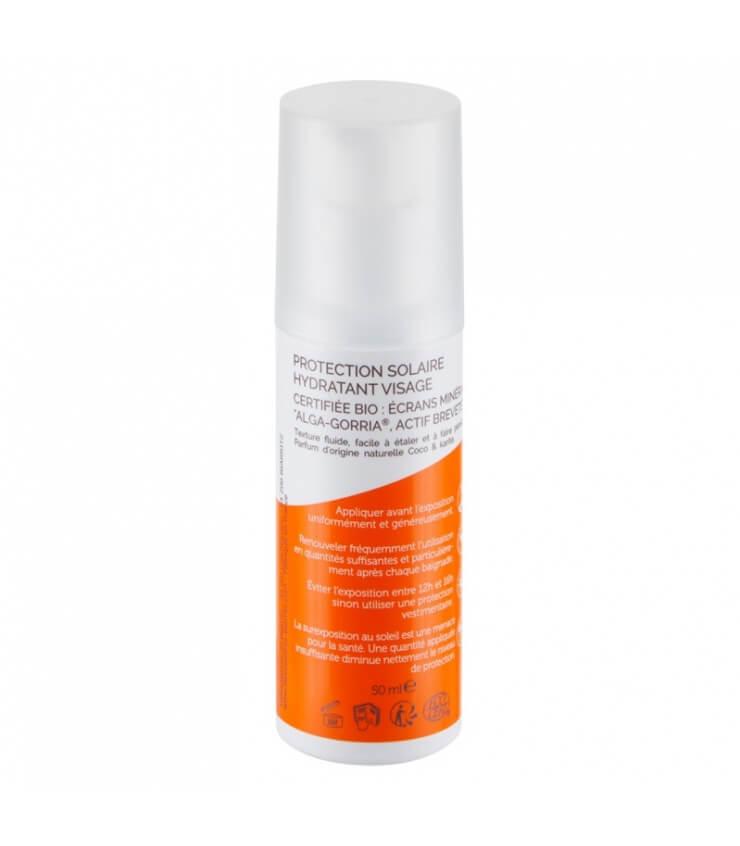 Crème solaire Visage SPF30 certifiée Bio Algamaris Laboratoire de Biarritz