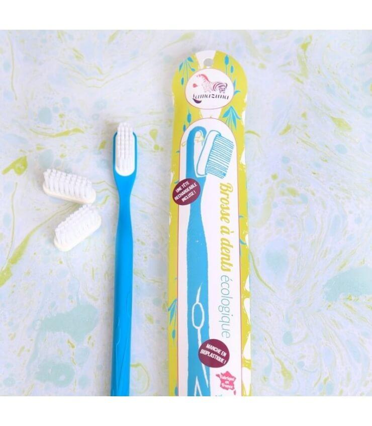 Brosse à dents Rechargeable et écologique Medium (5 couleurs) Lamazuna