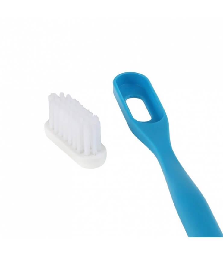 Recharge 3 têtes de brosse à dents Ecologiques Souple Lamazuna
