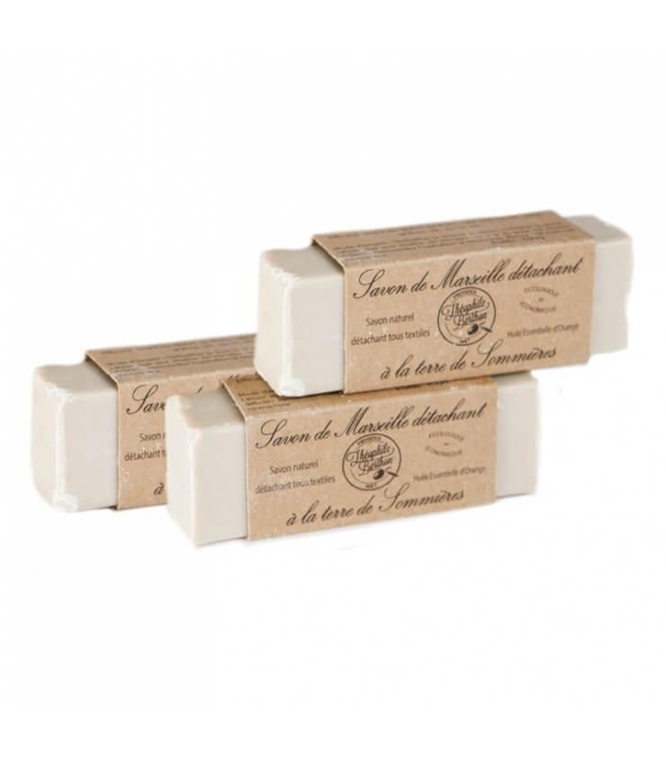 Pack 3 Savons naturel détachant linge Théophile Berthon