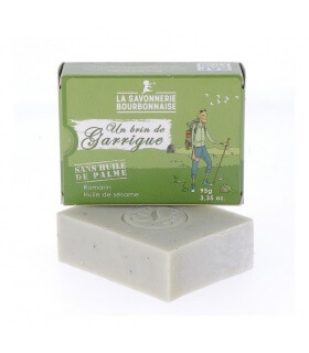 Savon à froid un Bin de Garrigue- La savonnerie Bourbonnaise