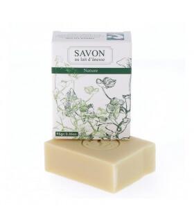 Savon au lait d'Ânesse Nature - La savonnerie Bourbonnaise