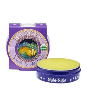 Baume Bonne nuit Night-Night Balm Certifié naturel Badger Balm