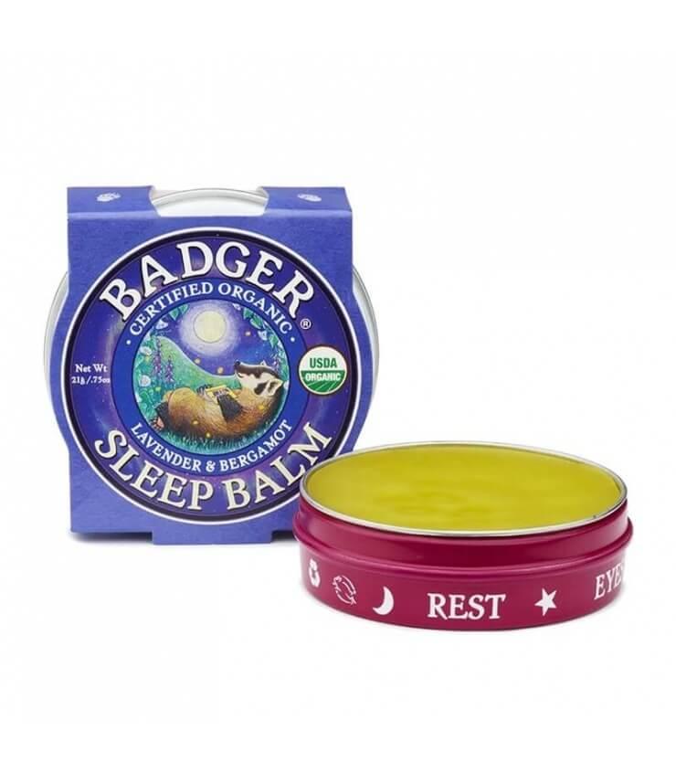 Baume Sommeil Sleep Balm Certifié Bio Badger Balm
