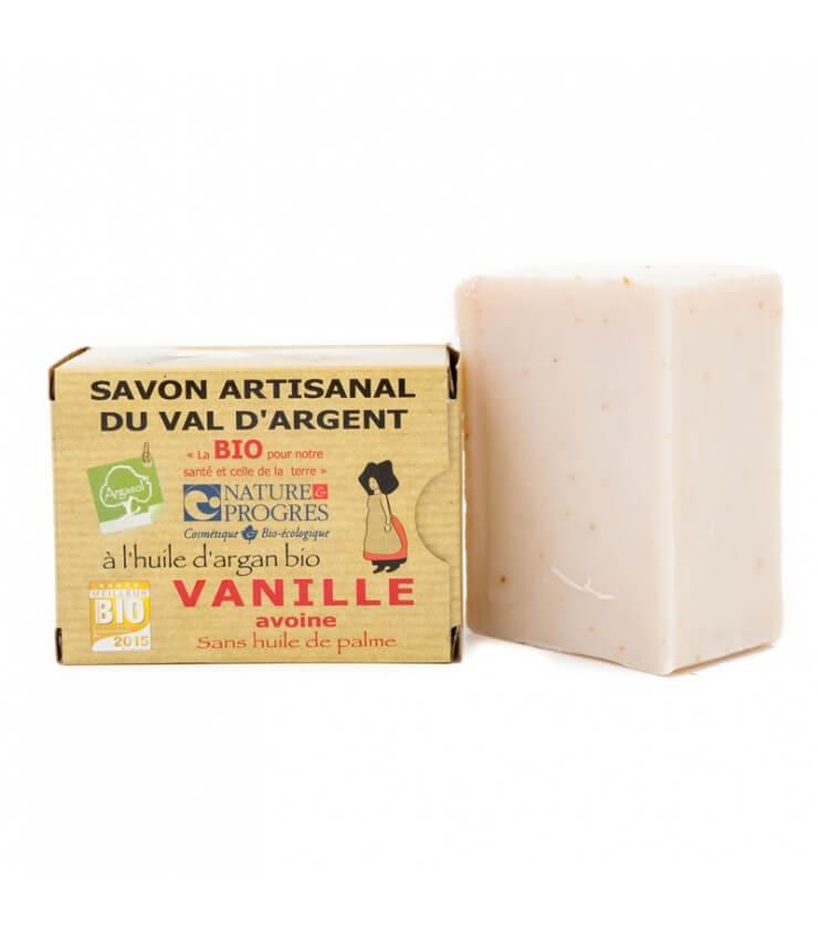 Savon Bio Vanille - Avoine Argasol