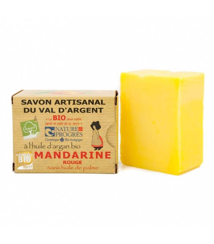 Savon Bio Mandarine Rouge Argasol