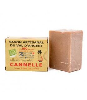 Savon Bio à la Cannelle et Argan Bio Argasol