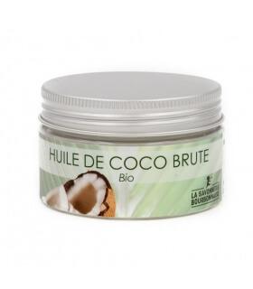 Huile de Coco Bio Brute Savonnerie Bourbonnaise