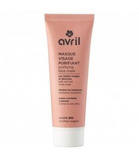 Masque visage Purifiant Peaux normales Avril Cosmétique