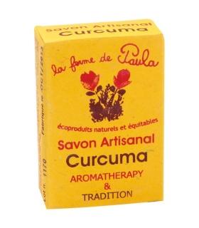 Savon Ayurvédique au Curcuma - La ferme de Paula