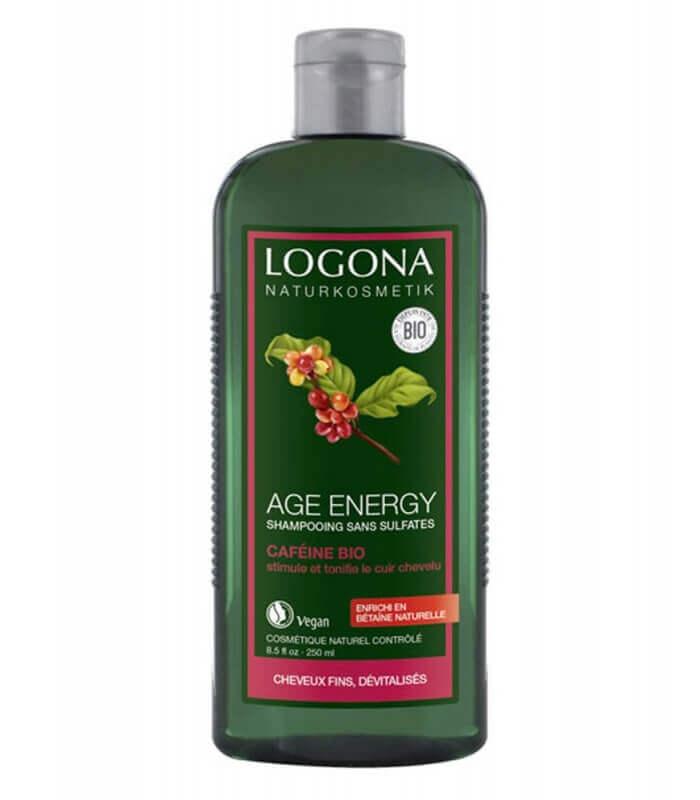 Shampooing à la caféine Age Energy - Logona