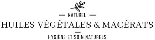 Huiles végétales pures biologiques et macérats huileux biologiques