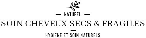 Soin des cheveux secs et fragiles avec produits naturels écologiques
