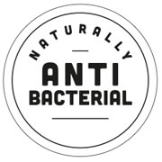 label naturally anti bacterial