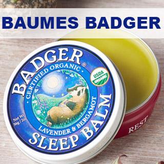 Baumes bio et naturel Badger Balm