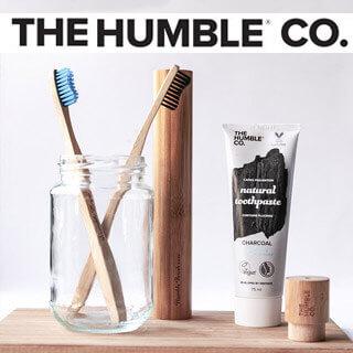 Dentifrice naturel bio et brosse à dent en bambou Humble Compagny