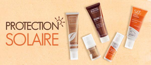 protection et crème solaires bio
